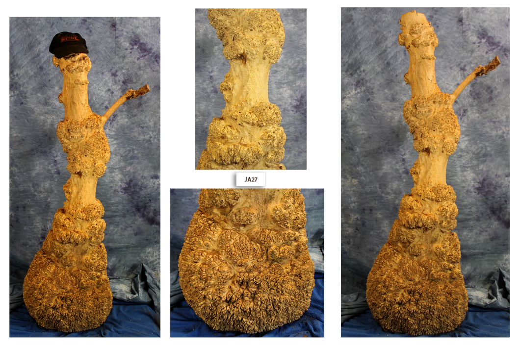 Maple Burl Snowman
