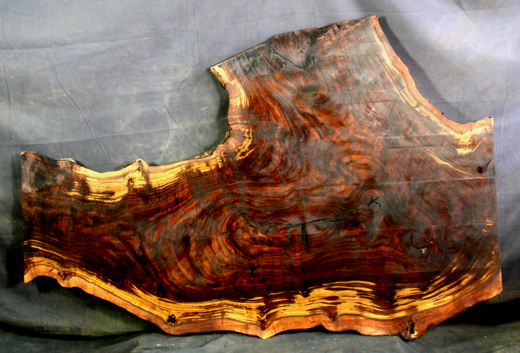 Claro Walnut Resin Table