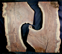 Claro Walnut Wood Natural Edge Slabs (WA1221)