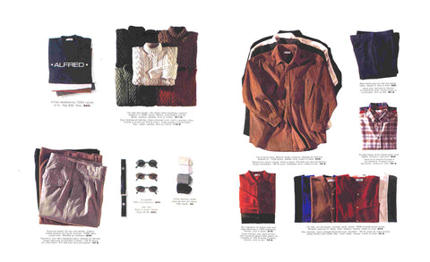ALFRED® Clothing Catalogue from 1993