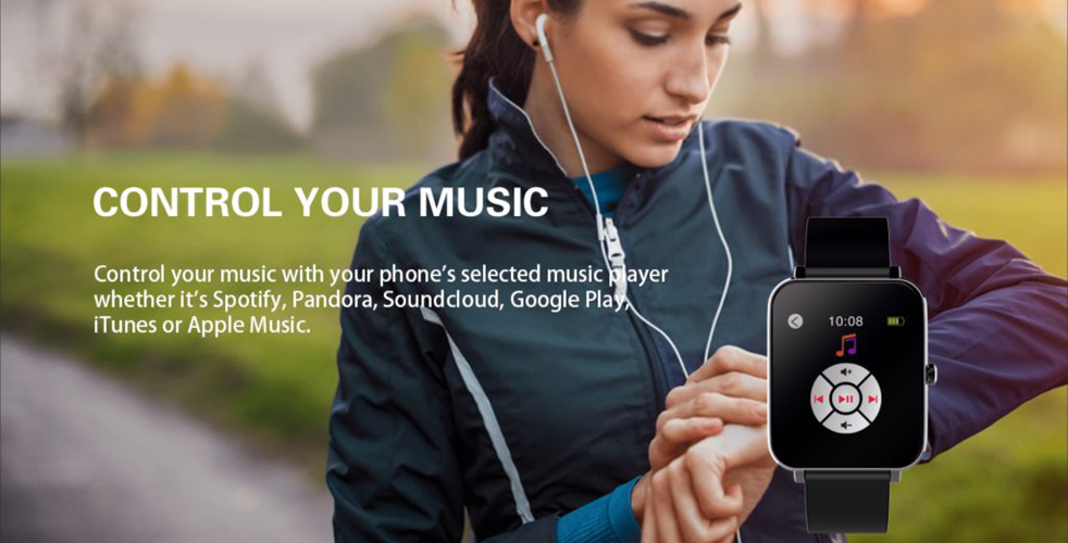Alfred Sung Fitness Tracker - Control Your Music