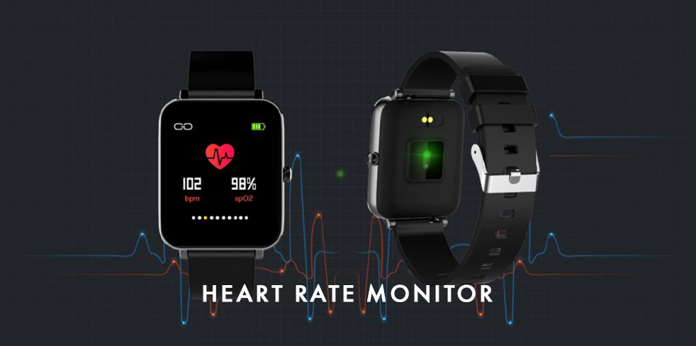 Alfred Sung Fitness Tracker - Heart Monitor