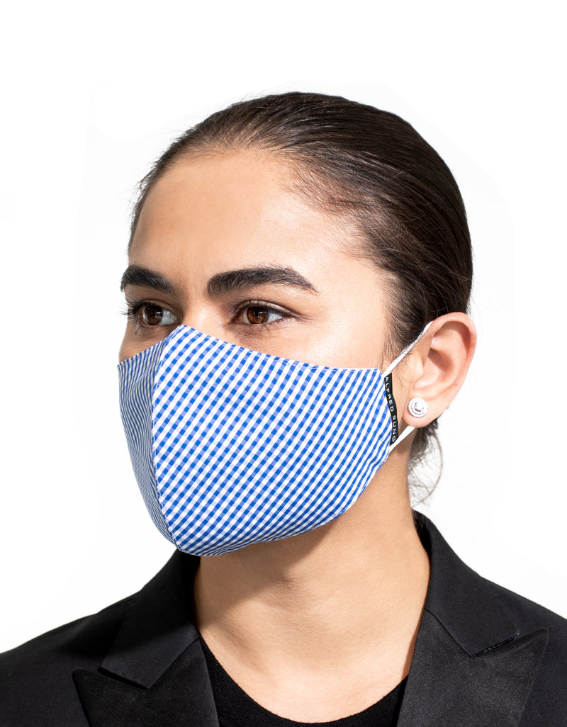 Gingham Face Mask 3-Pack - Alfred Sung