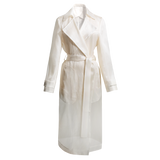 Organza Trench Coat - Alfred Sung
