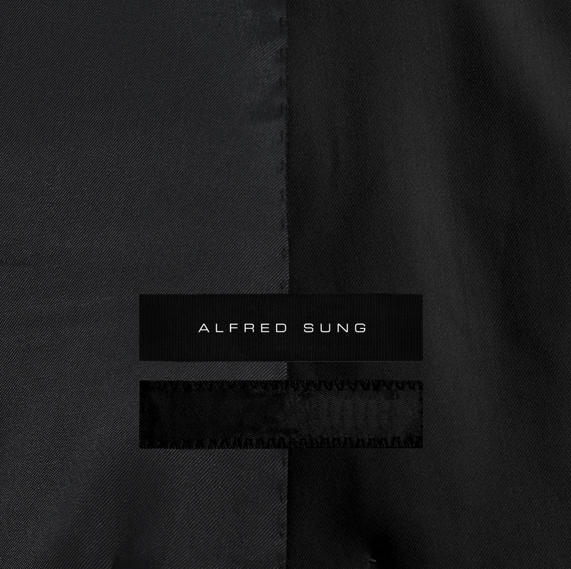 Alfred Sung - Derby Blazer - Monogram - Black