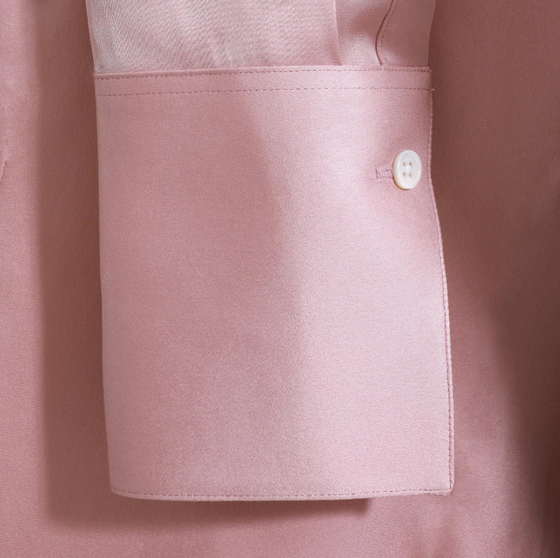 Alfred Sung Blush Lille Blouse Monogram