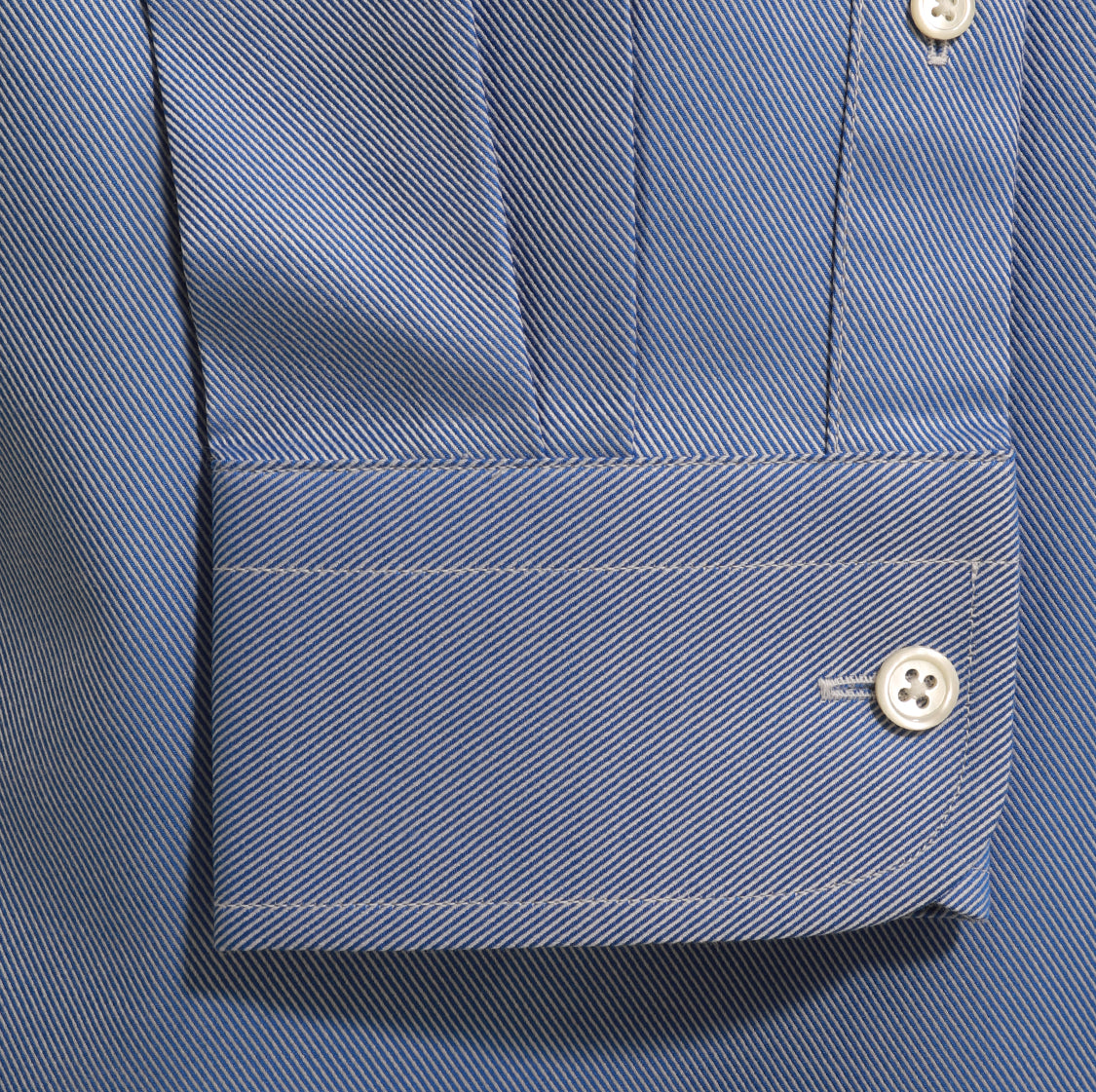 Alfred-Sung-MidBlue-Twill-Modern-Shirt-Monogram