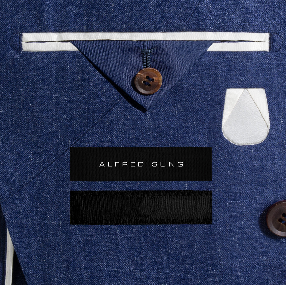 Alfred-Sung-Blue-Linen_Jacket-Monogram