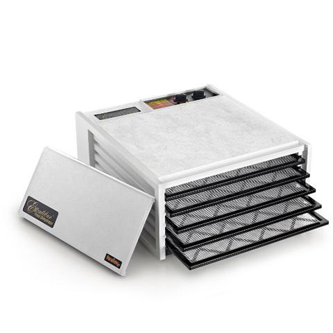 Excalibur 5-tray, 26hr Timer, Solid Door, White-Dehydrator - Free Shipping-Excalibur Dehydrator