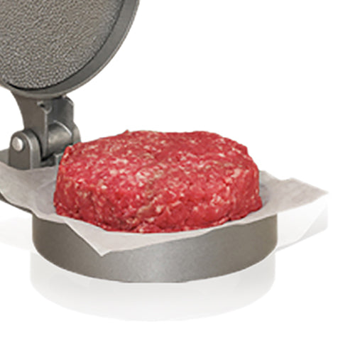 Aluminum Single Patty Press