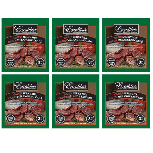Cajun Jerky Mix 6-pack