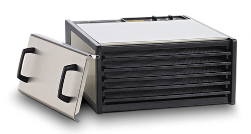 Excalibur 5-Tray Outer Case Stainless Steel w/Plastic Trays