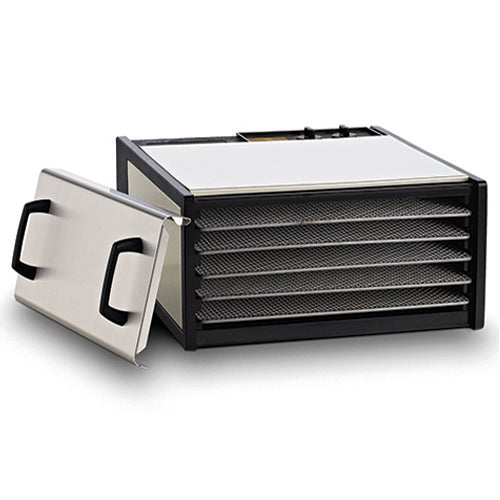 Excalibur 5-tray, Stainless Steel, 26hr Timer