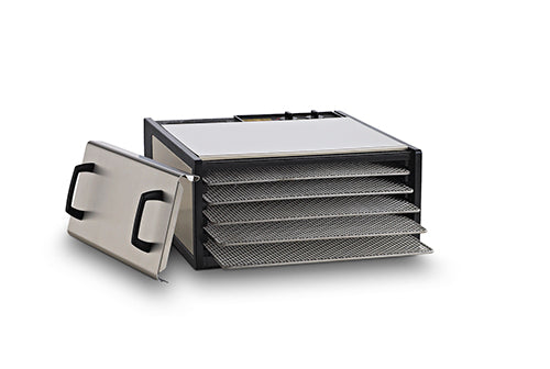 Excalibur 5-Tray Outer Case Stainless Steel w/Stainless Steel Trays