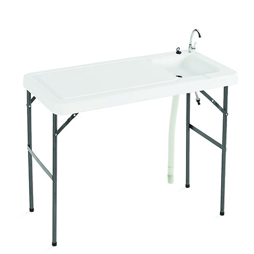 Folding Table with Faucet, Sink, Hose