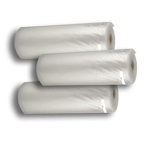 3 Rolls 11in x 18ft Vacuum Sealer Roll