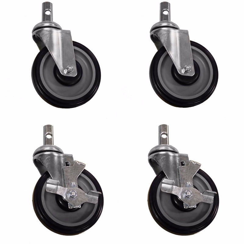 "5"" Casters (Optional) set of 4"