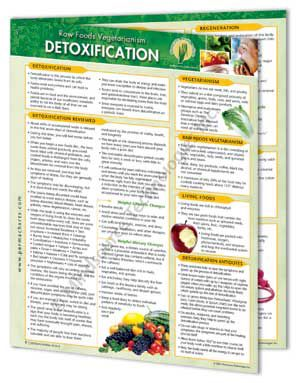 Raw Foods Vegetarianism – Info Chart ALL 8 Combo Pack
