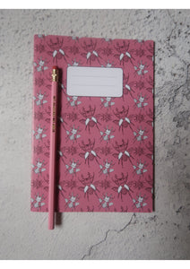 A5 Notebook and Pencil Set