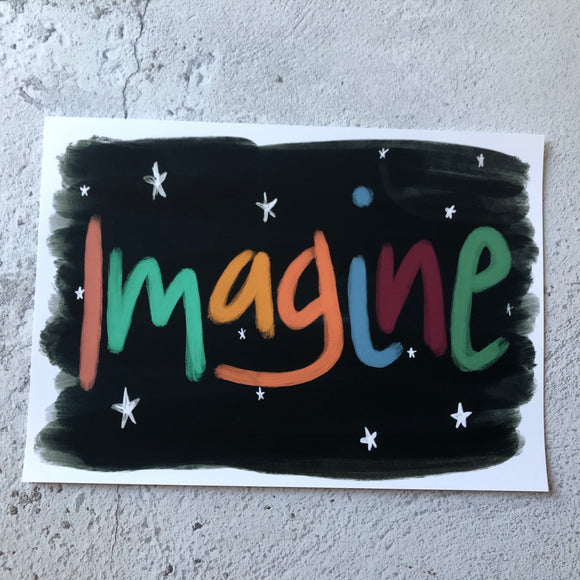 Imagine -A4 Sample