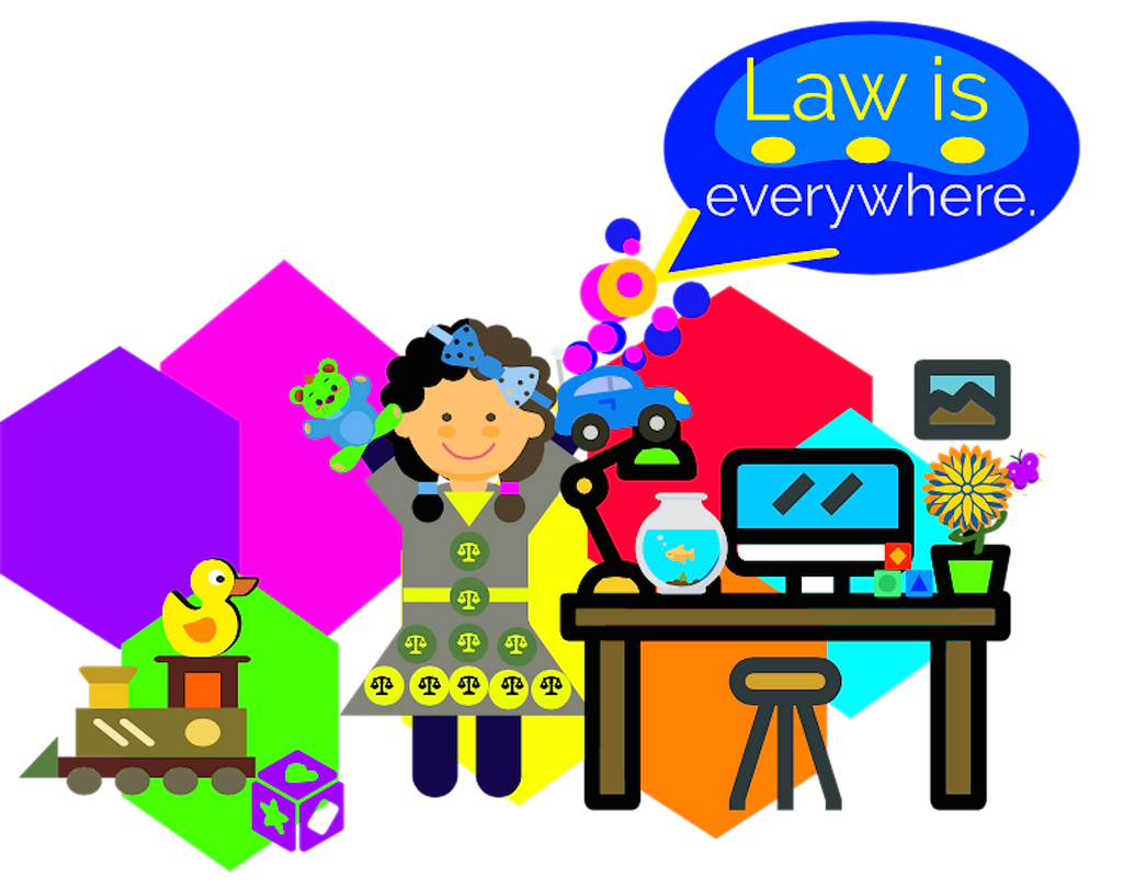 Law Is Everywhere? - An Activity Exciting Kids To Know The Law