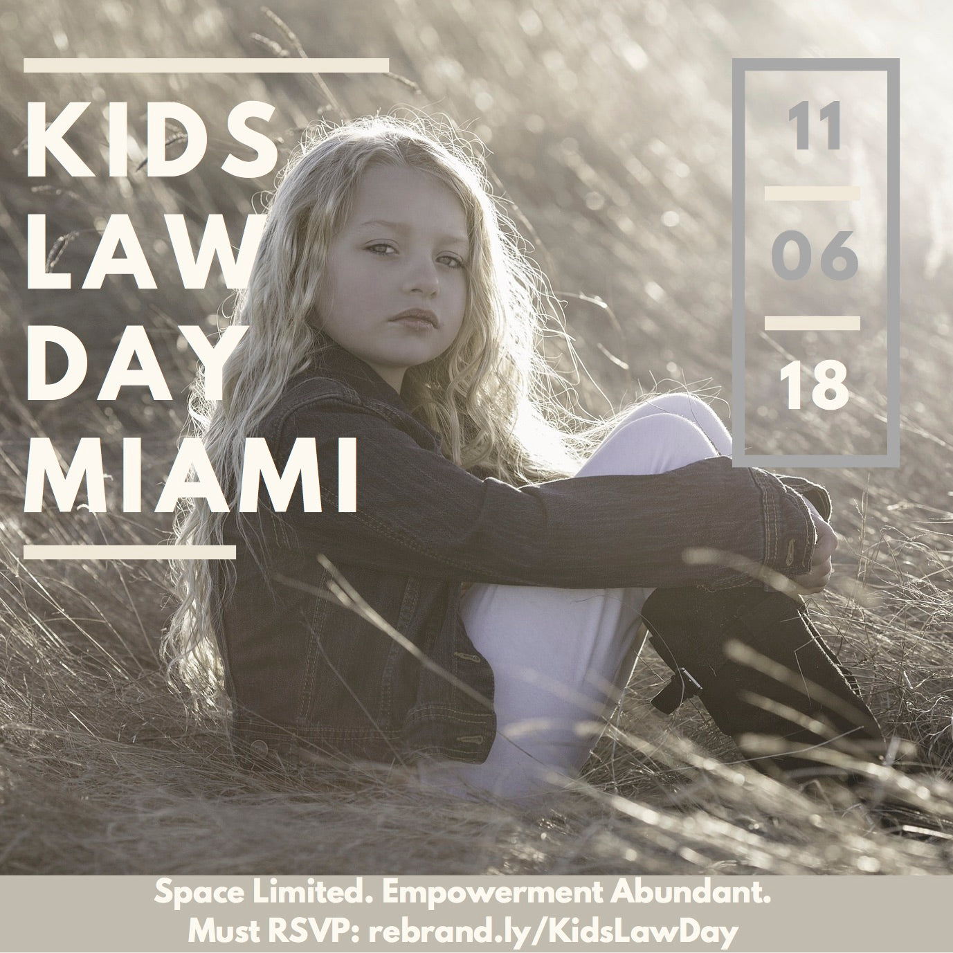 Kids Law Day 2018: Come Out And Play with The Little Lawyers