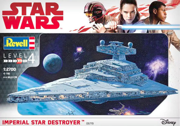 REVELL/ZVEZDA 1/2700 IMPERIAL STAR DESTROYER UPGRADES