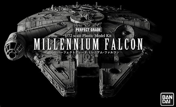 BANDAI 1/72 PERFECT GRADE MILLENNIUM FALCON UPGRADES