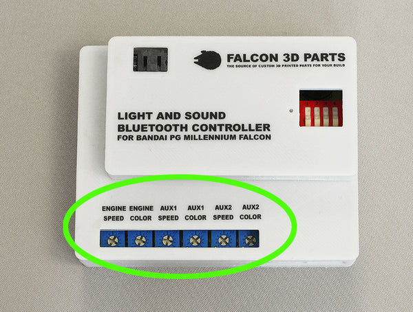 Light and Sound Controller for 1/72 Bandai PG Millennium Falcon