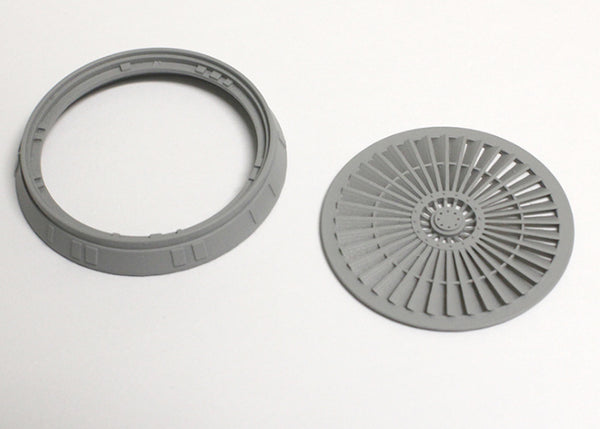 Set of Exhaust Ports with Grilles and Fans for the Engine Deck for 1/43 DeAgostini Millennium Falcon