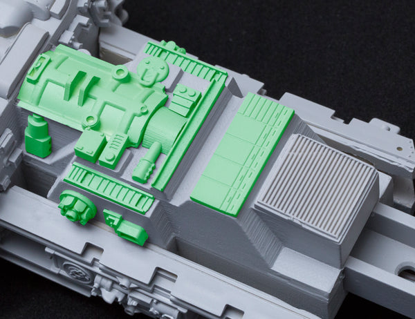 Greeblie Set for Studio Scale Y-Wing