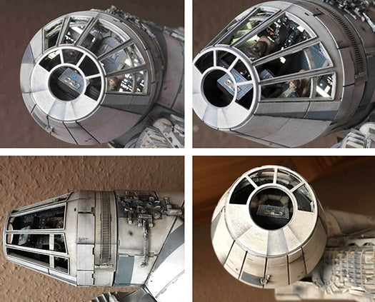 DeAgostini Millennium Falcon Replacement Cockpit Upgrade Set