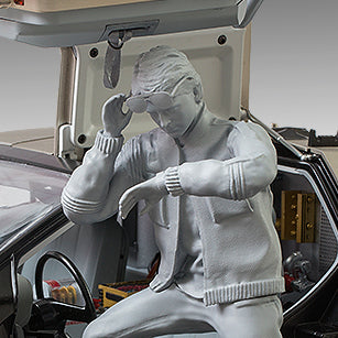 Driver Figure for 1/8 Scale Eaglemoss/DeAgostini DeLorean Time Machine