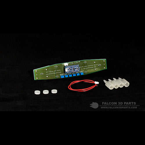Engine Light Control Board for 1/2700 Revell/Zvezda Imperial Star Destroyer – BASE SET
