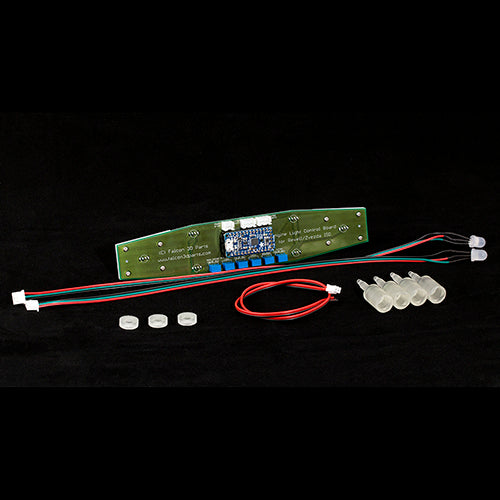 Engine Light Control Board for 1/2700 Revell/Zvezda Imperial Star Destroyer – FULL SET