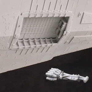 Main Hangar Bay and Tantive IV for 1/2700 Revell/Zvezda Imperial Star Destroyer