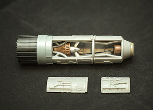 Reveal Engine Replacement Housing for 1/18 DeAgostini X-Wing