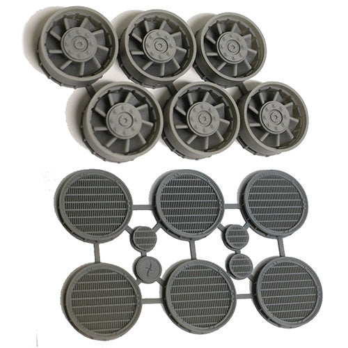 Set of Exhaust Ports with Grilles and Fans for 1/48 Hasbro Hero Millennium Falcon
