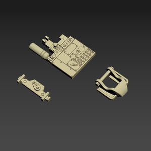 Greeblie Set for Studio Scale Y-Wing - Left Wing Parts