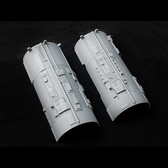 Greeblie Set for Studio Scale Y-Wing - Saturn V Port Engine Halves