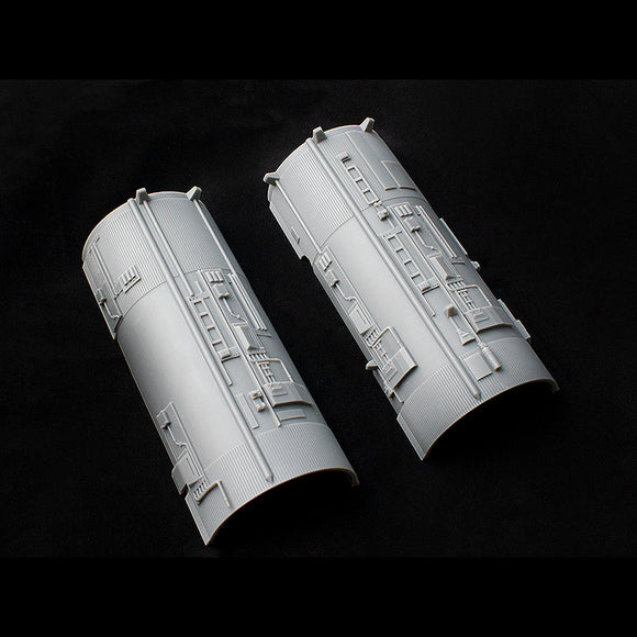 Greeblie Set for Studio Scale Y-Wing - Saturn V Starboard Engine Halves