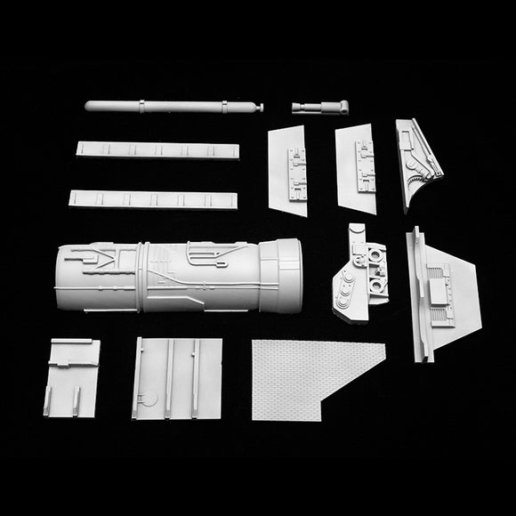 Plant-On Parts for Wings for 1/18 Hasbro Hero X-Wing Conversion