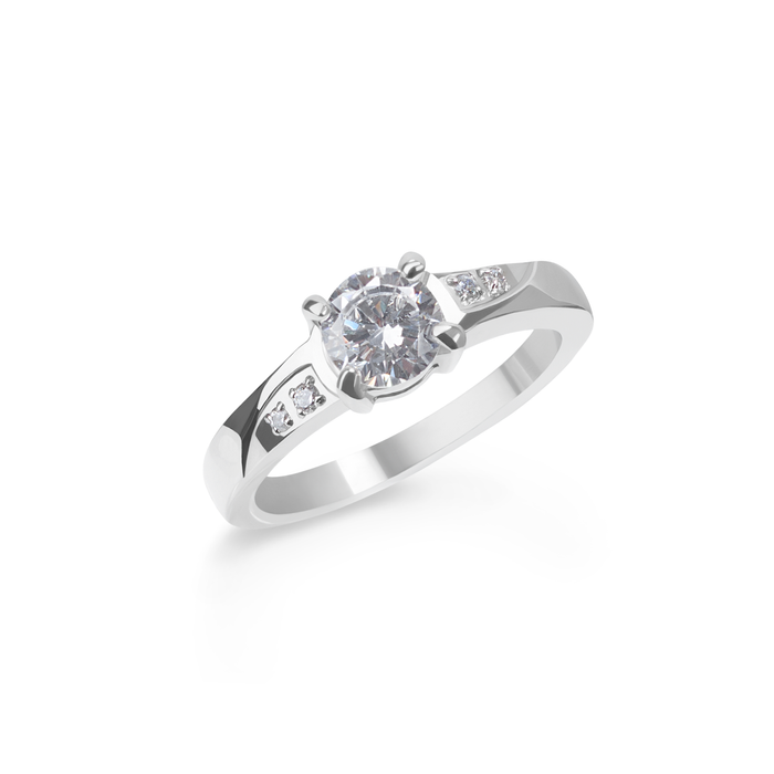 stainless-steel-solitaire-ring-with-zirconias-bague-zircons-solitaire-acier-inoxydable-T116R004-MIA