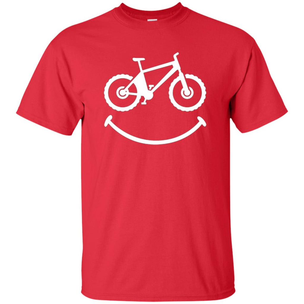 Mountain Bike Shirt: Smile Funny Love Bike Rider T-Shirt