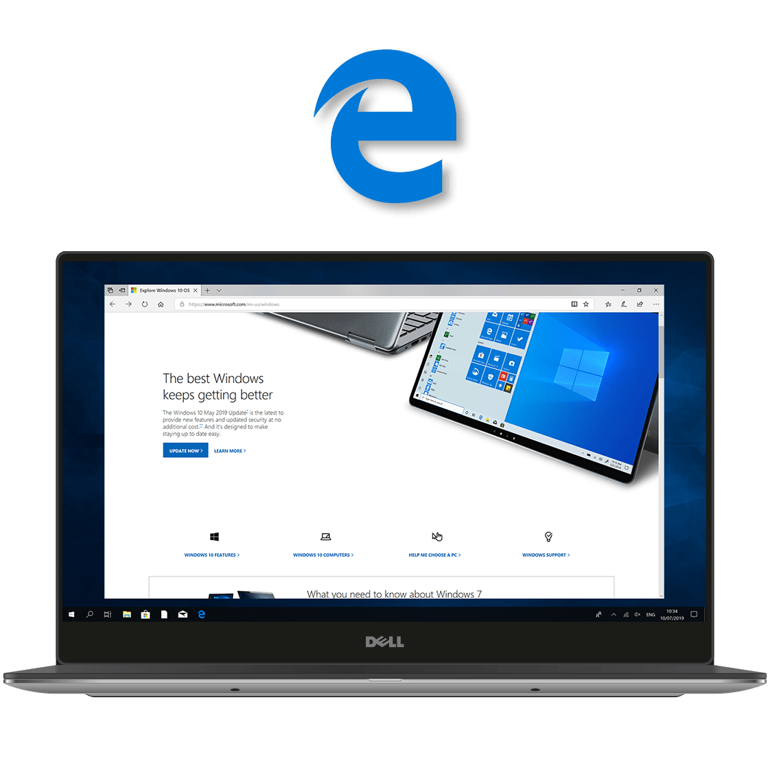 Microsoft Edge Windows 10 Home LicenceDeals.com