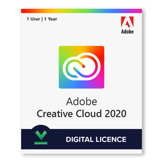 Adobe Creative Cloud 2020 1 Dispozitiv | 1 An Licența electronică