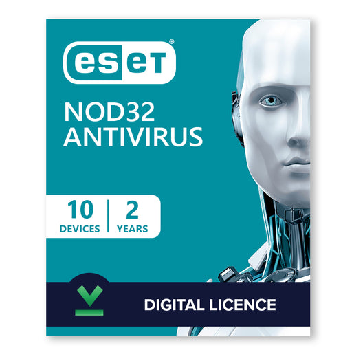 ESET NOD32 Antivirus 10 Devices | 2 Years - Digital Licence