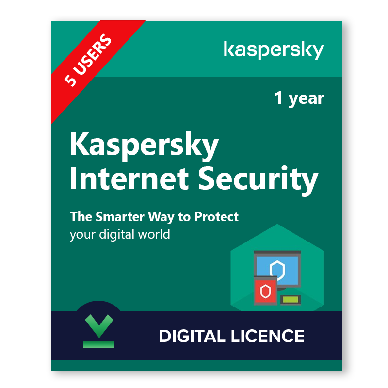 Buy Kaspersky Internet Security 5 Devices 1 Year Licencedeals Com