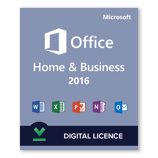 Microsoft Office 2016 Home and Business - download digital licence