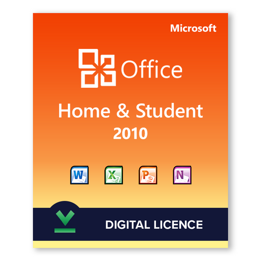 Microsoft Office Home and Student 2010 - download digital licence